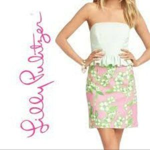 Lilly Pulitzer Lowe Pretty Pink Tootie Dress 6